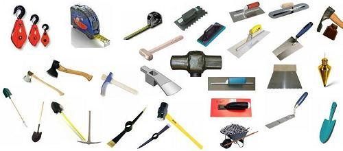 لیست ابزارآلات ساختمانی-یراق تهران