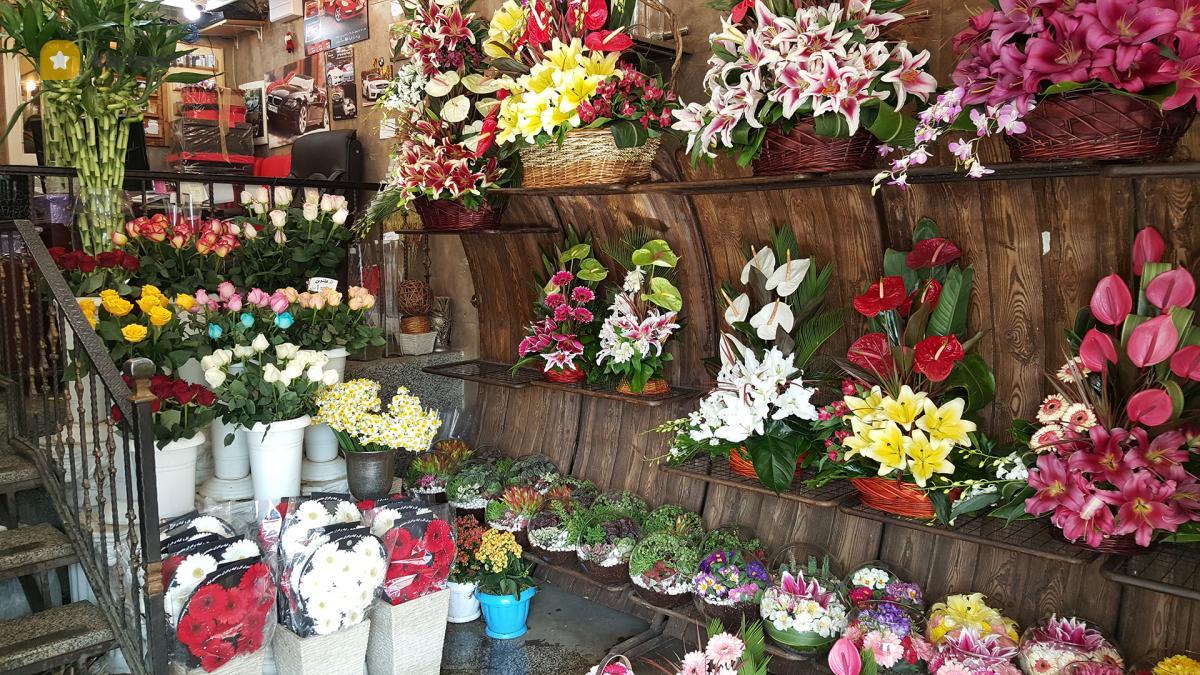 لیست گلفروشی های تهران
