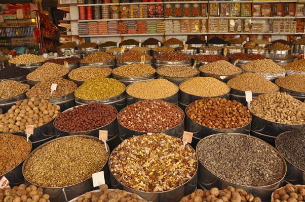 لیست آجیل و خشکبار فروشی های زنجان