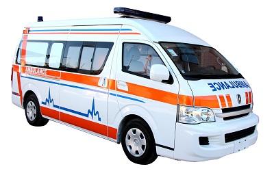 لیست آمبولانسهای دولتی و خصوصی تهران